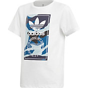 adidas Originals Boys' Camo Block T-Shirt