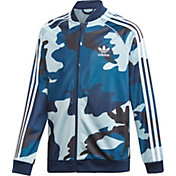 adidas Boys' Camo Print Superstar Jacket