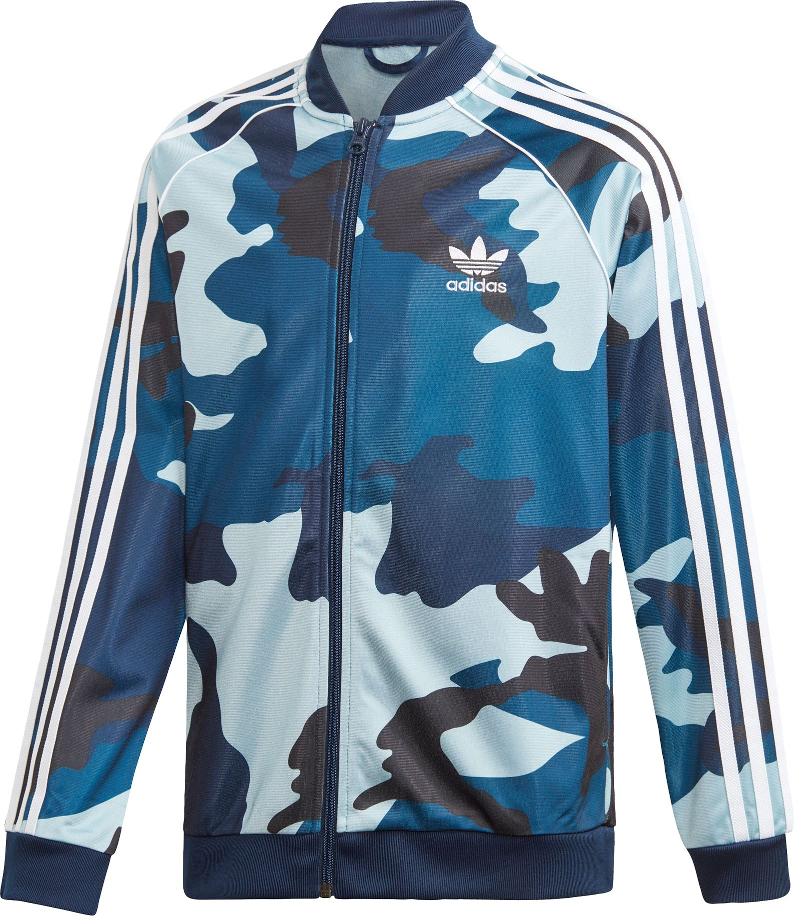 adidas Boys' Camo Print Superstar Jacket, Size: XS, Multi thumbnail