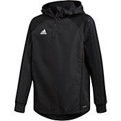 adidas Boys' Condivo 18 Warm 1/4 Zip Hoodie