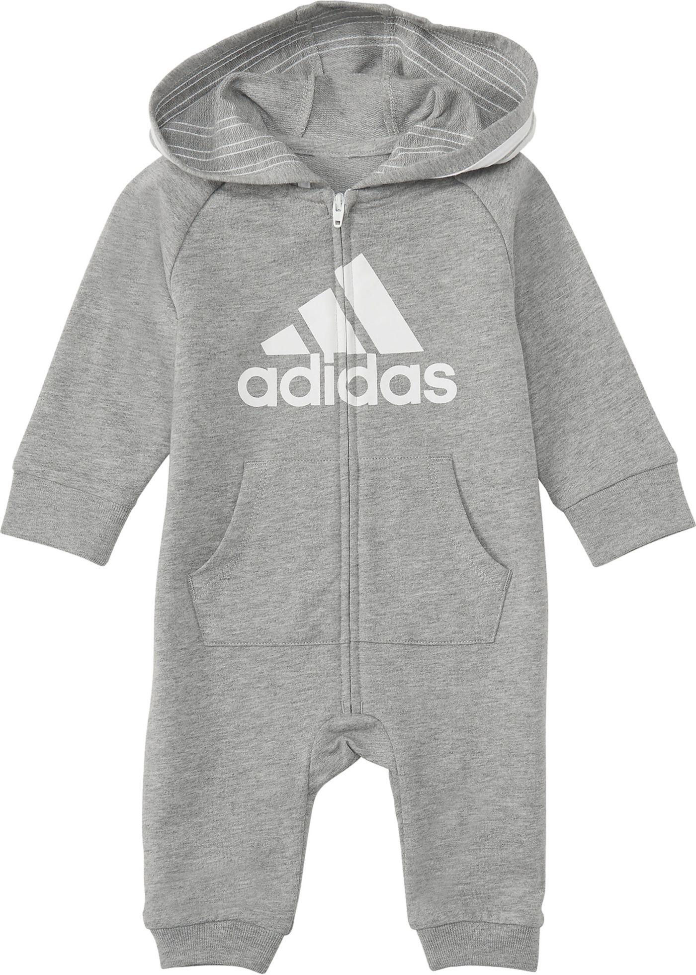 adidas Infant Boys' Long Sleeve Onesie
