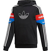 adidas Originals Boys' Graphic Colorblock Hoodie