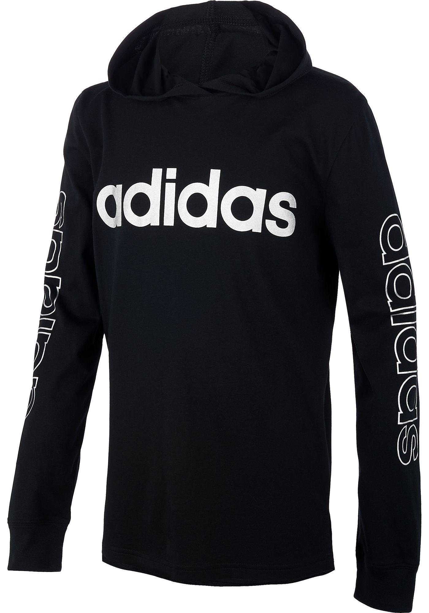 adidas Boys' Linear Hoodie