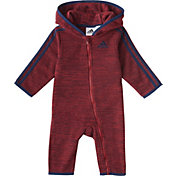 adidas Infant Boys' Microfleece Hooded Onesie