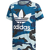 adidas Originals Boys' Printed Camo T-Shirt