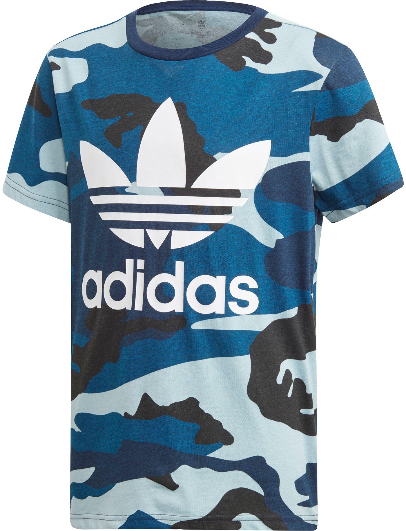 adidas Originals Boys' Printed Camo T-Shirt