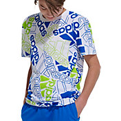 adidas Boys' Badge Of Sport Print T-Shirt