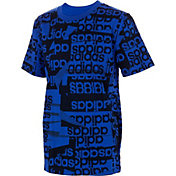 adidas Boys' All Over Print T-Shirt