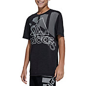 adidas Boys' Statement Badge Of Sport T-Shirt