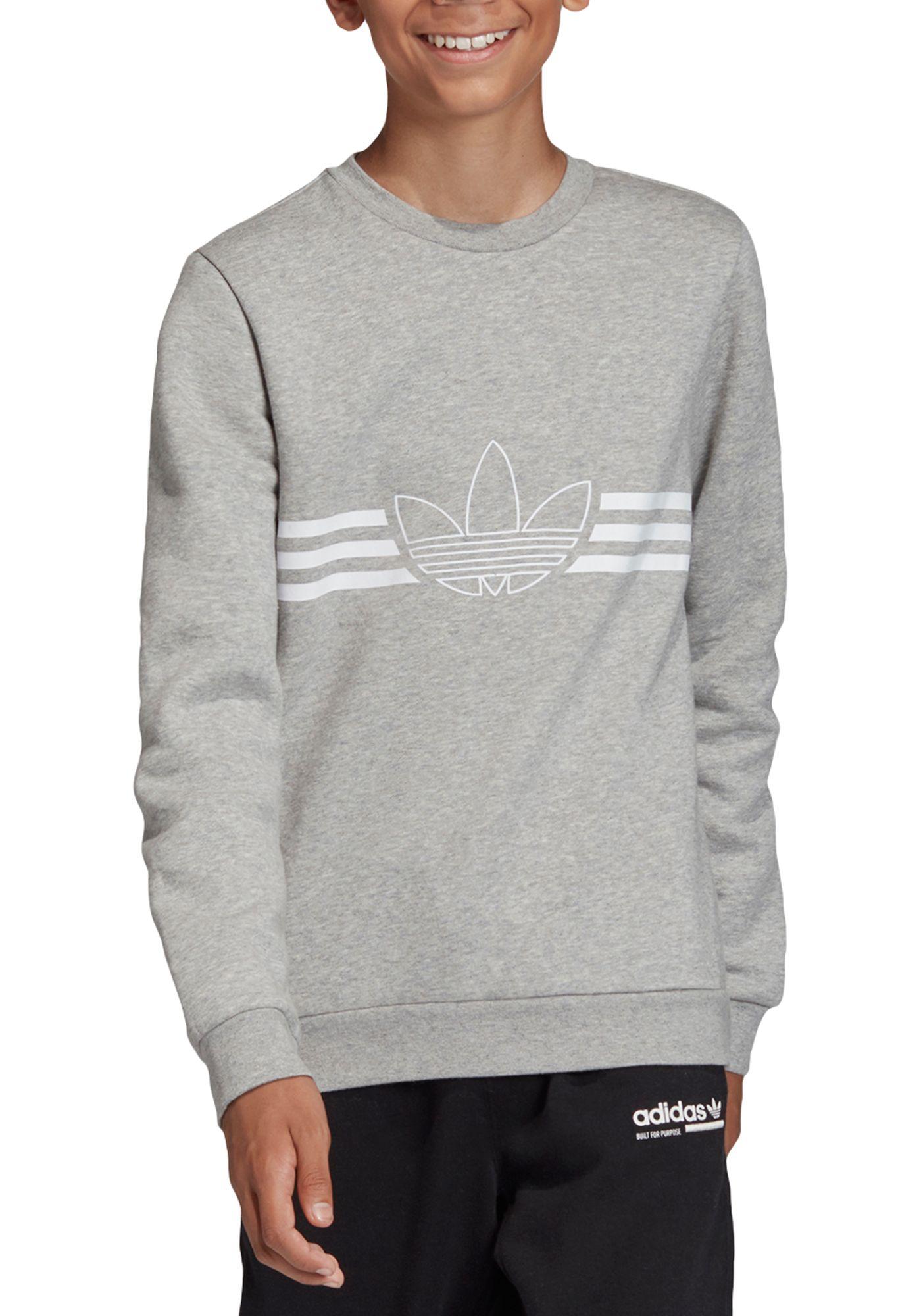adidas Boy's Spirit Crewneck Sweatshirt