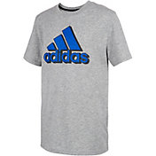 adidas Boy's Badge of Sport Mascot T-Shirt