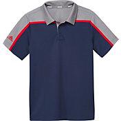 adidas Boys' Heather Colorblock Golf Polo