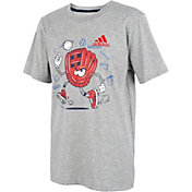 adidas Boy's Mighty Mitt T-Shirt