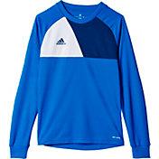 adidas Boys' Assita 17 Goalkeeper Long Sleeve Jersey