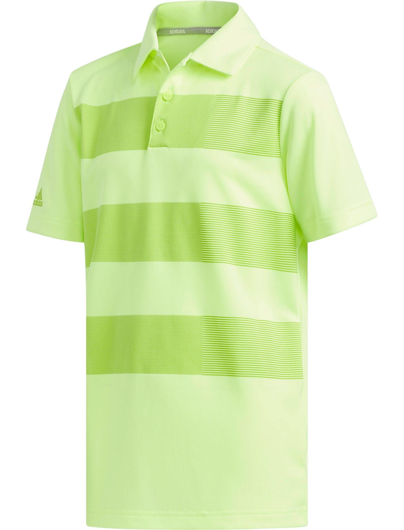 adidas Boys' Three Stripe Golf Polo