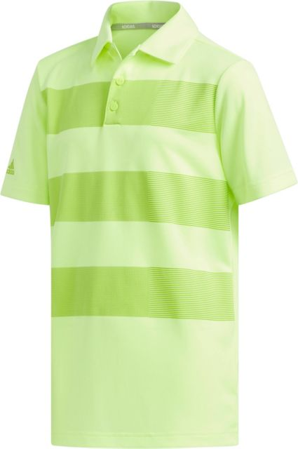 adidas Boys' Three Stripe Golf Polo
