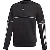 adidas Boys' Outline Crewneck Sweatshirt