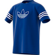 adidas Originals Boy's Trefoil Outline Graphic T-Shirt