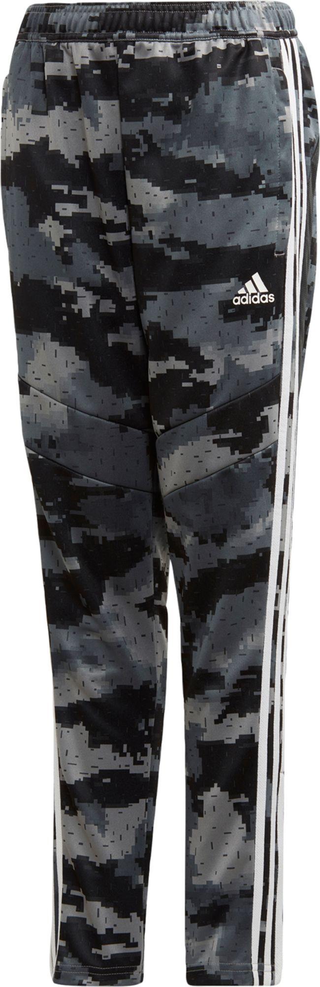 adidas Boy's Tiro 19 Camo Training Pants, Size: XS, Gray thumbnail