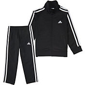 adidas Little Boys' Tricot Jacket and Pant Set