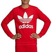 adidas Originals Boy's Trefoil Crewneck Sweatshirt