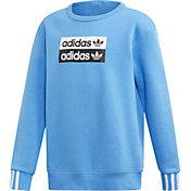 adidas Originals Boy's Vocal Trefoil Crewneck Sweatshirt