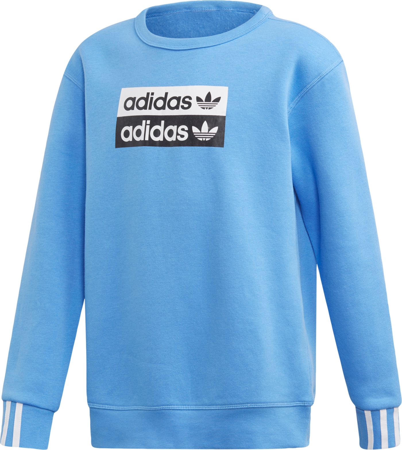 adidas Originals Boy's Vocal Trefoil Crewneck Sweatshirt