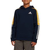 adidas Boys' Fleece 3-Stripes Hoodie