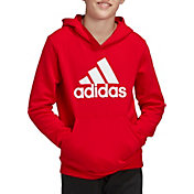 adidas Boys' Must Haves Badge Of Sport Pullover Hoodie