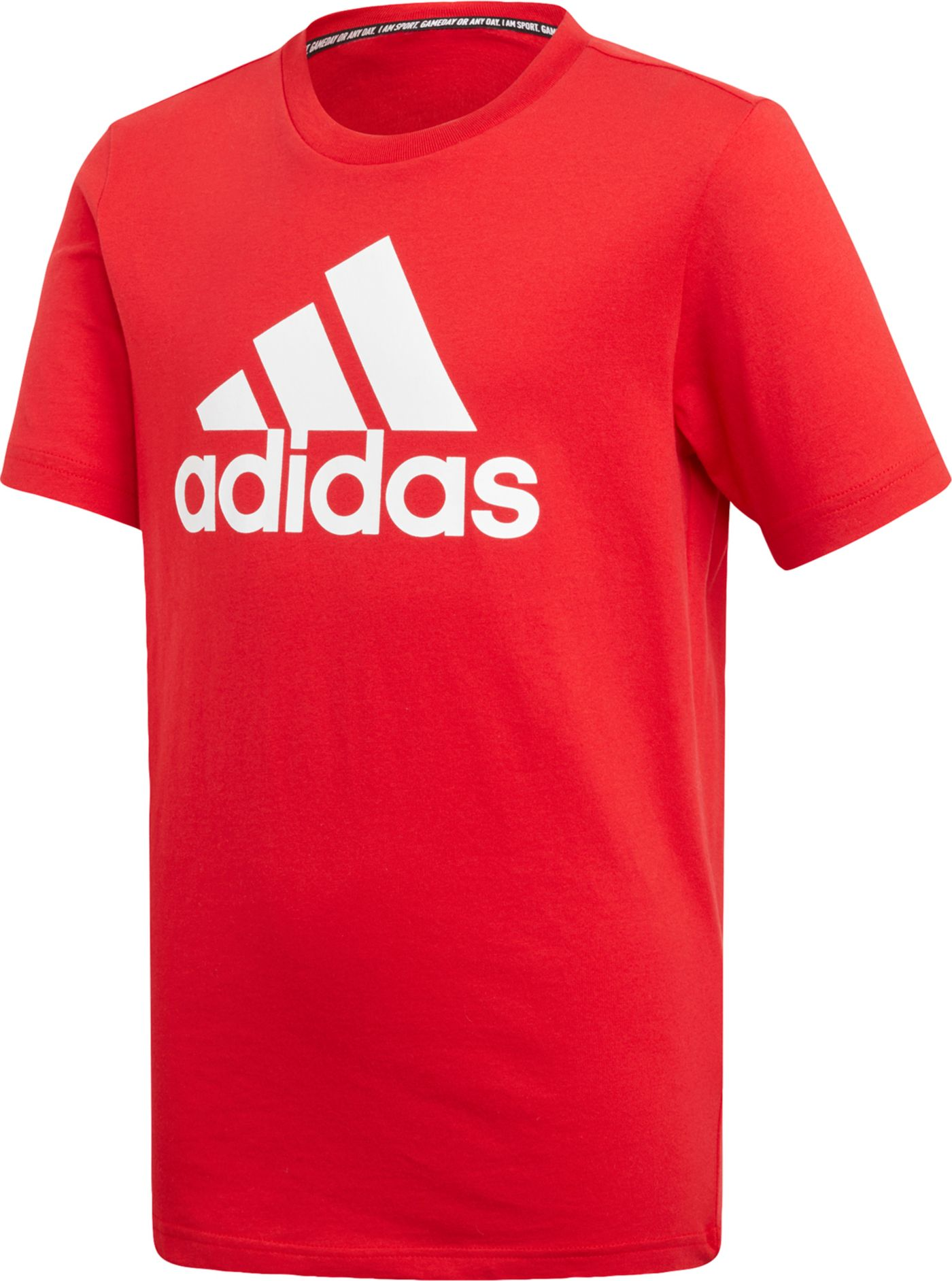 adidas Boys' Must Haves Badge Of Sports T-Shirt
