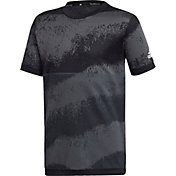 adidas Boys' 3-Stripes Camouflage Training T-Shirt