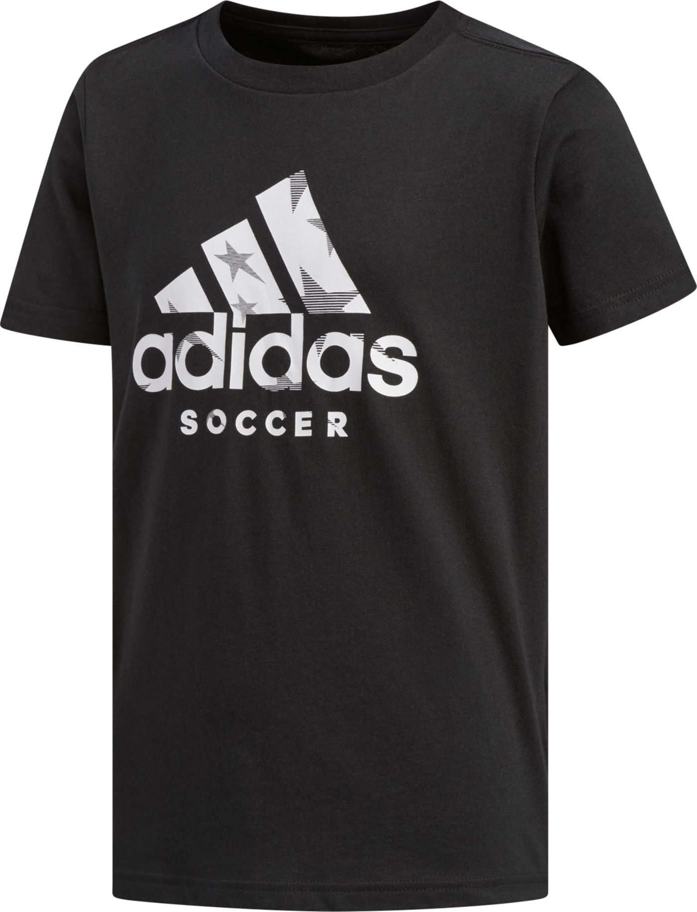 adidas Boy's Badge Of Sports Soccer T-Shirt