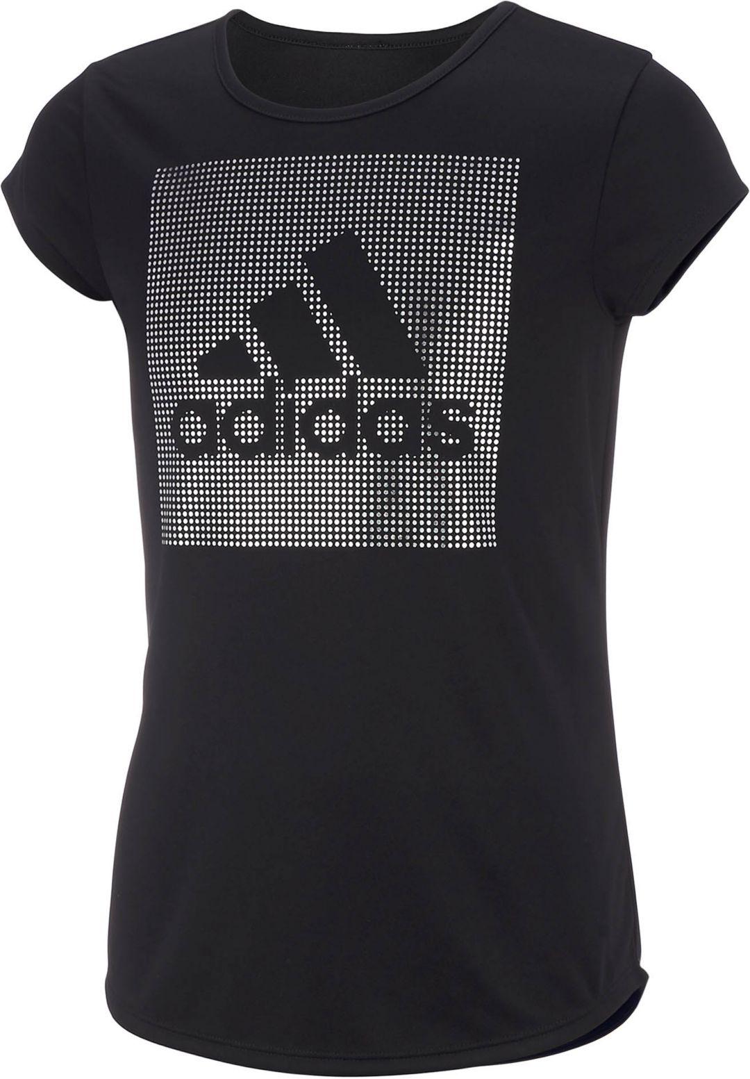 bf2dabc7ea1 adidas Little Girls' Rainbow Foil T-Shirt   DICK'S Sporting Goods