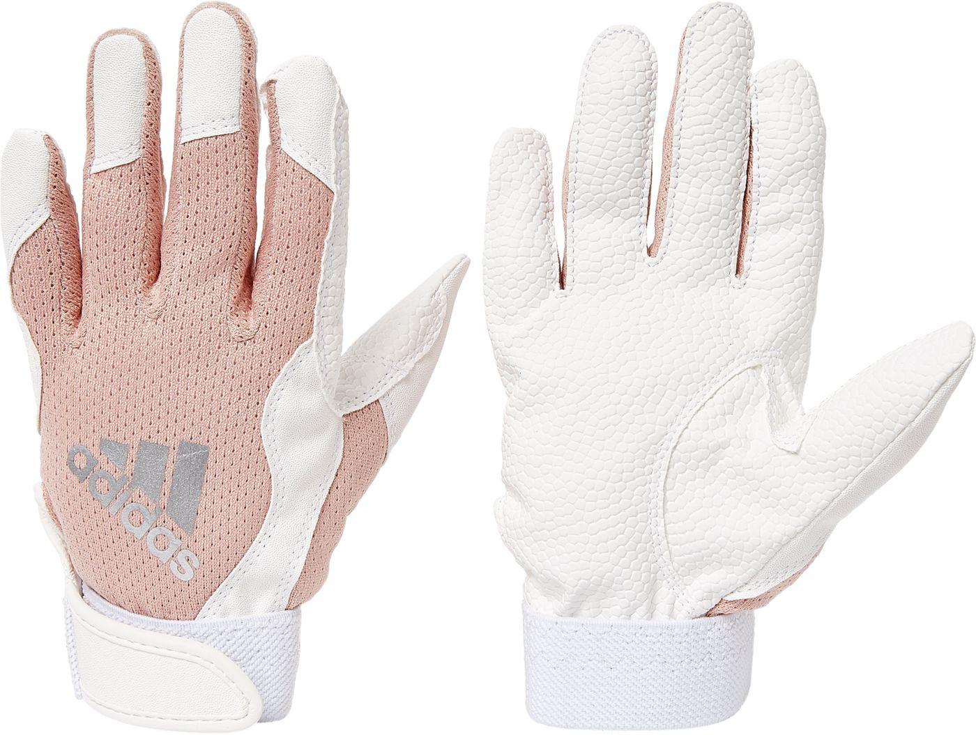 adidas Girls' T-Ball Batting Gloves 2020