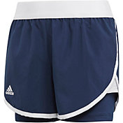 adidas Girls' Club Tennis Shorts