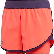 adidas Girls' Club Tennis Shorts