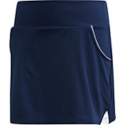 adidas Girls' Club Piped Pocket Tennis Skort