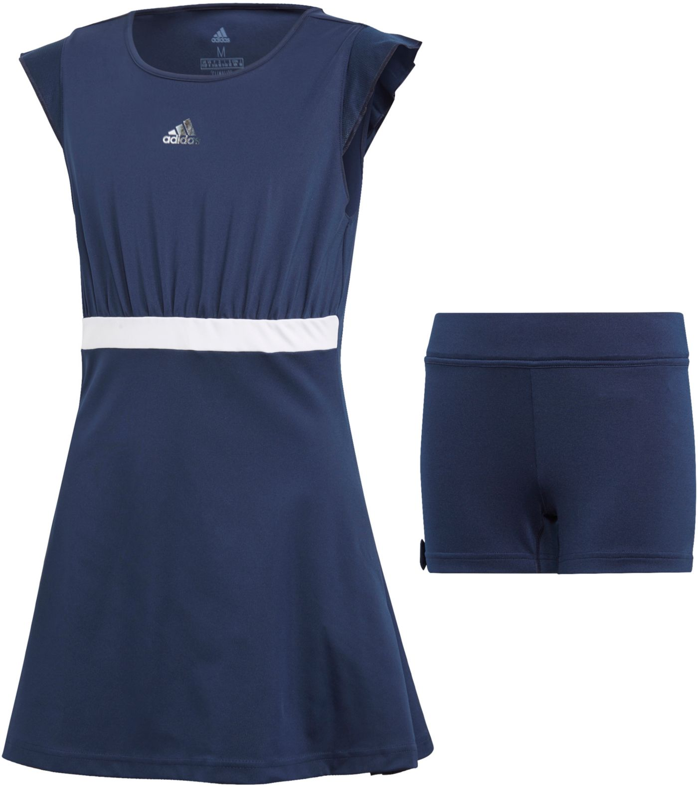 adidas Girls' Ribbon Tennis Dress