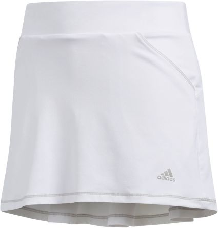adidas Girls' Solid Golf Skort