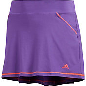 adidas Girls' Solid Pleat Golf Skort