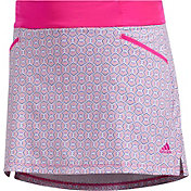 adidas Girls' Printed Golf Skort