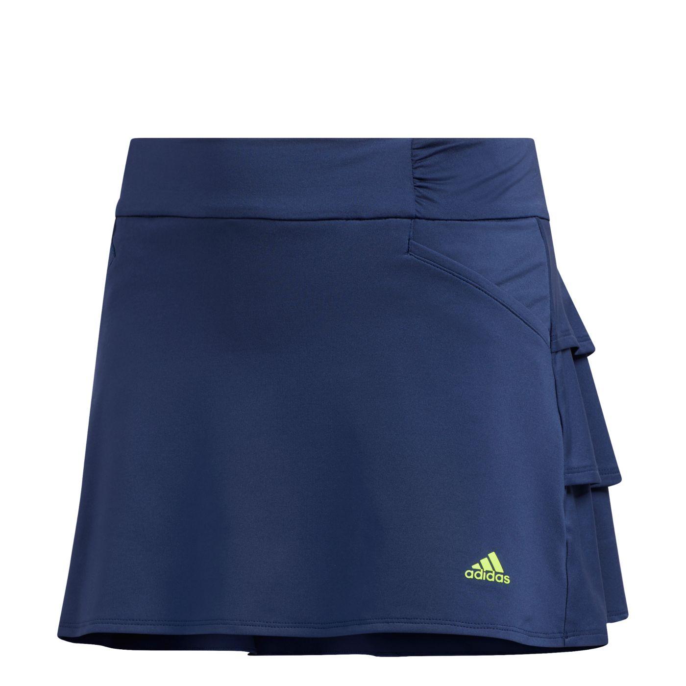 adidas Girls' Ruffled Golf Skort