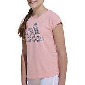 adidas Girls' Doodle Graphic T-Shirt