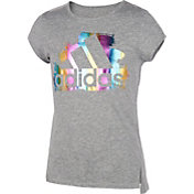 adidas Girls' Front Vented Graphic T-Shirt