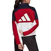 adidas Girls' The Pack Half Zip Jacket