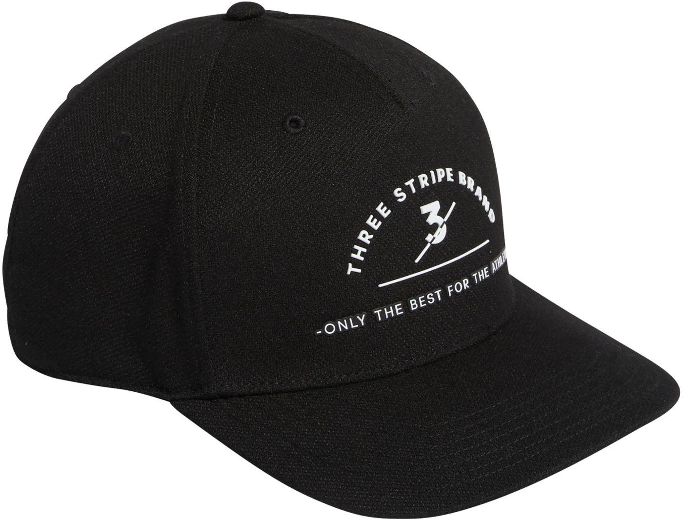adidas Men's Three Stripes Brand Golf Hat
