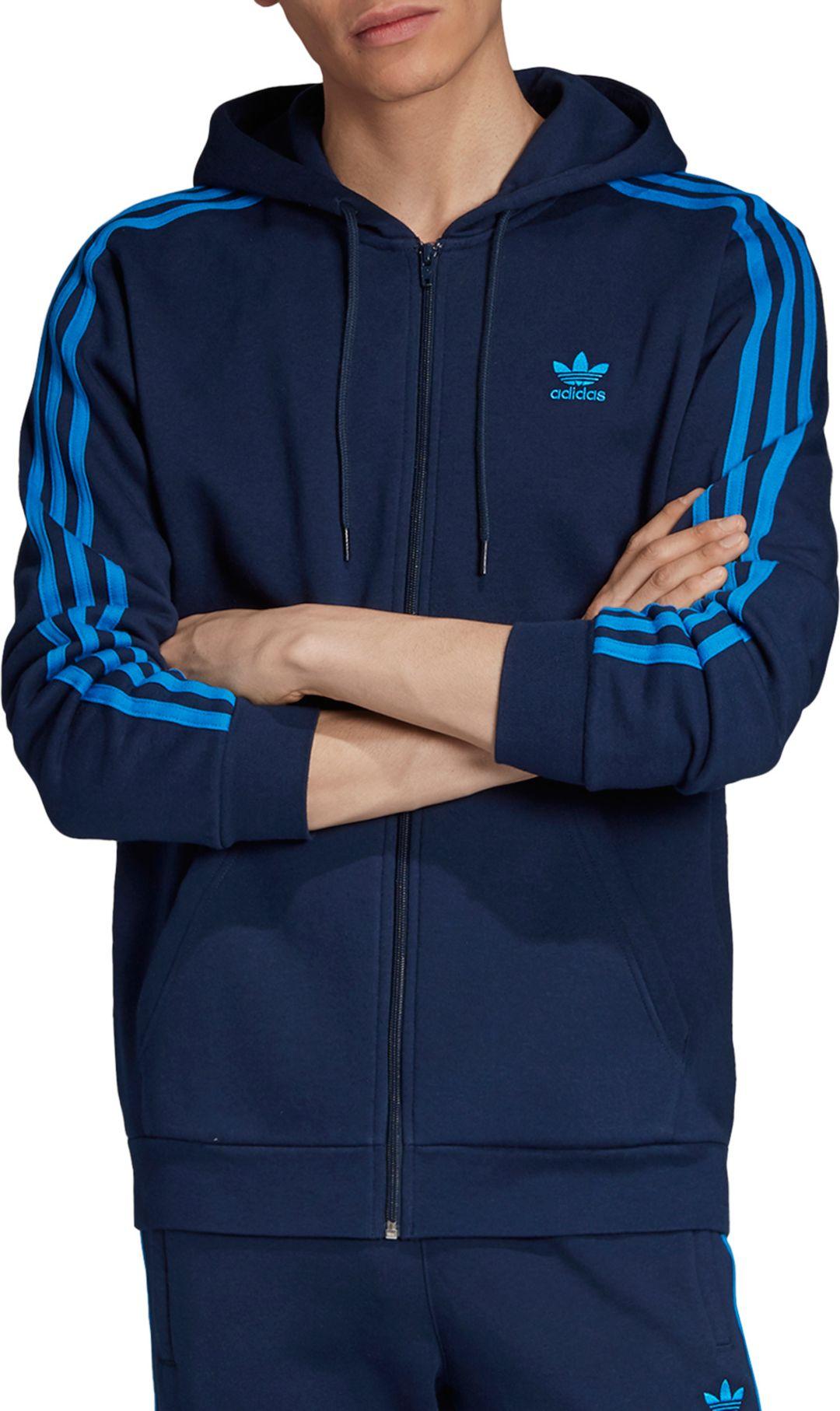 Details about adidas Originals Mens 3 Stripe Windbreaker