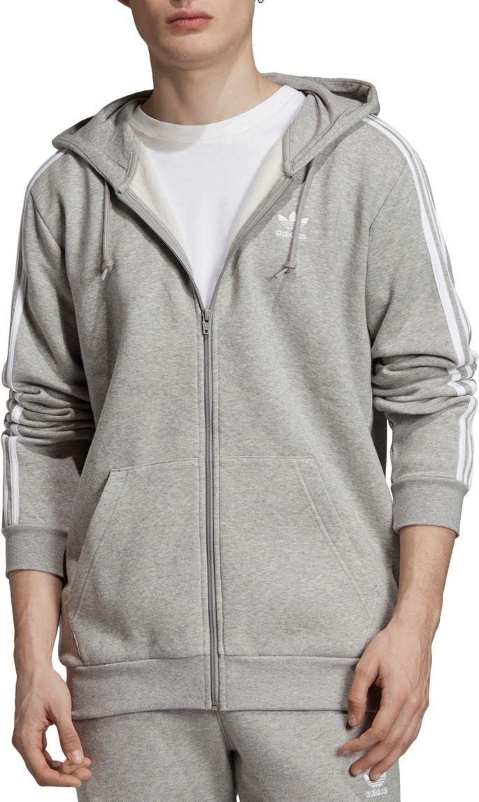 adidas Zip Men's Full Originals 3 Stripes Hoodie mN8wyOvn0P