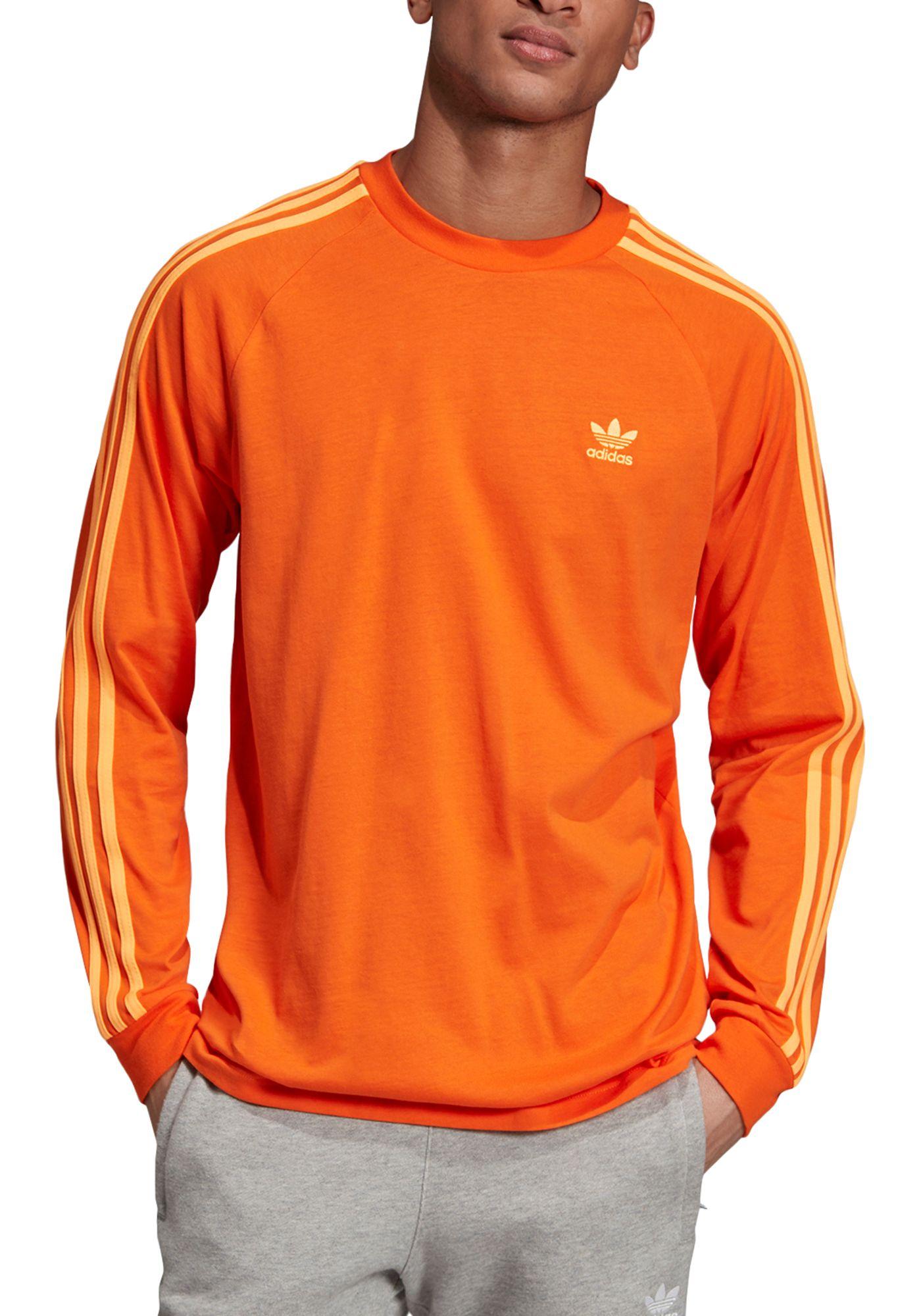 adidas Originals Men's 3-Stripes Long Sleeve Shirt