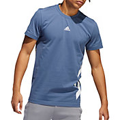 adidas Men's 3-Stripes Basketball T-Shirt